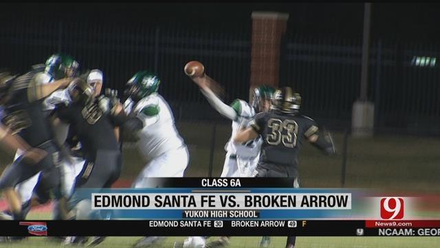 Broken Arrow Beats Santa Fe