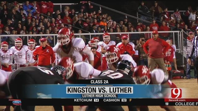 2A Playoffs: Luther Vs. Kingston