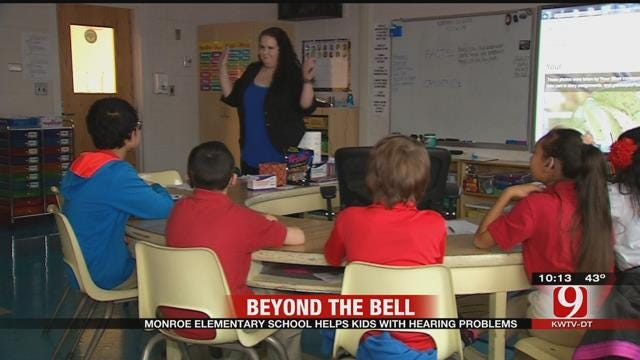 Beyond The Bell: Monroe Elementary Helps Kids With Hearing Problems
