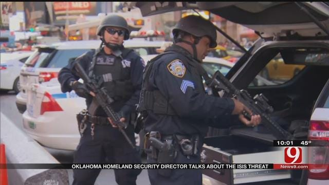 Oklahoma Homeland Security Director Talks About ISIS Threat