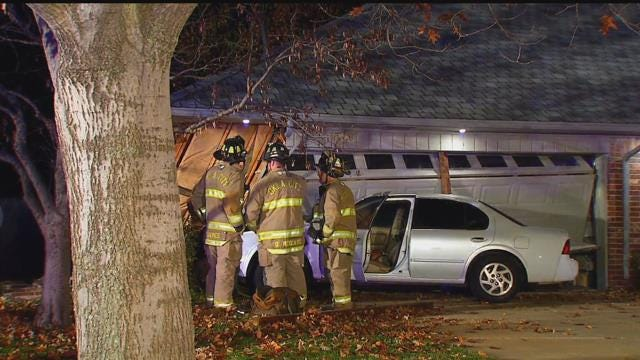 Car Crashes Into OKC Home