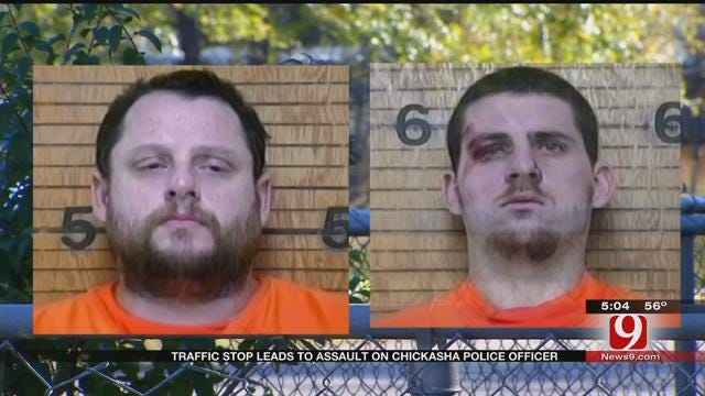 Traffic Stop Leads To Assault On Chickasha Police Officer