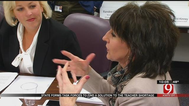 State Forms Task Forces To Find Solution For The Teacher Shortage