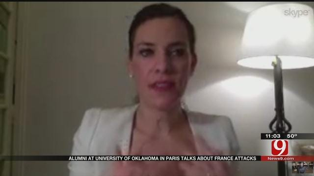 OU Alumna In Paris: Sooner State Is Helping Her Cope