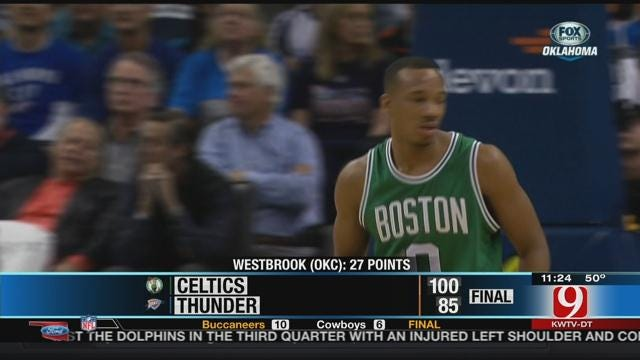 Smart Helps Celtics Sink Thunder