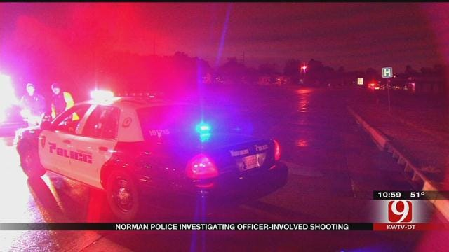 Police Investigate Officer-Involved Shooting In Norman