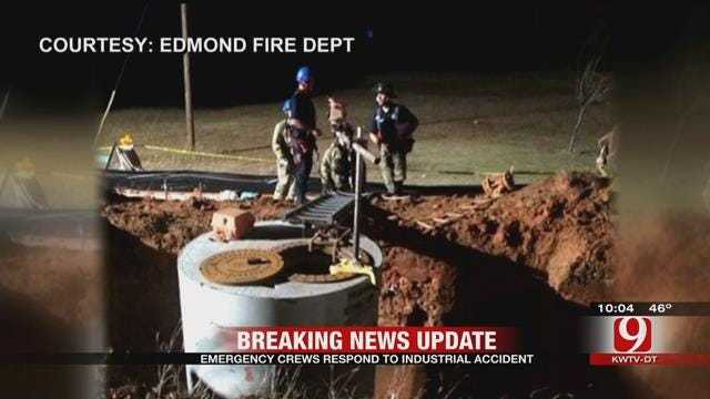 One Trapped After Industrial Accident In Edmond