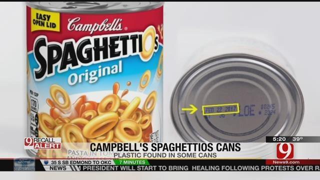 Blenders, Spaghetti O's, Wax Warmers Among Items Recalled