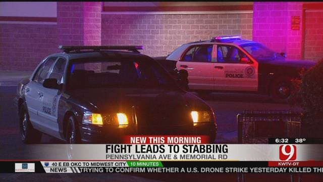 One Arrested For Stabbing Roommate At OKC Apartment