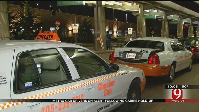 Metro Cab Drivers On Alert Following Cabbie Robbed At Gunpoint