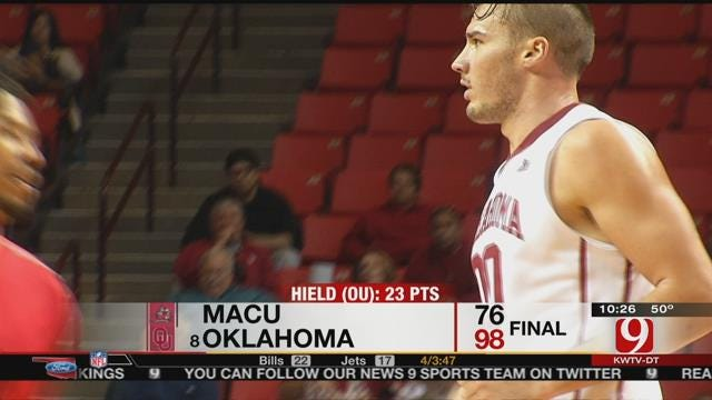 OU Men's Basketball Beats MACU