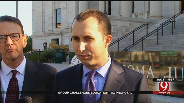 Group Challenges Oklahoma's Education Tax Proposal