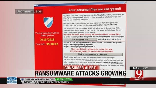 FBI: Popular Online Scam 'Ransom Ware' Continues To Grow