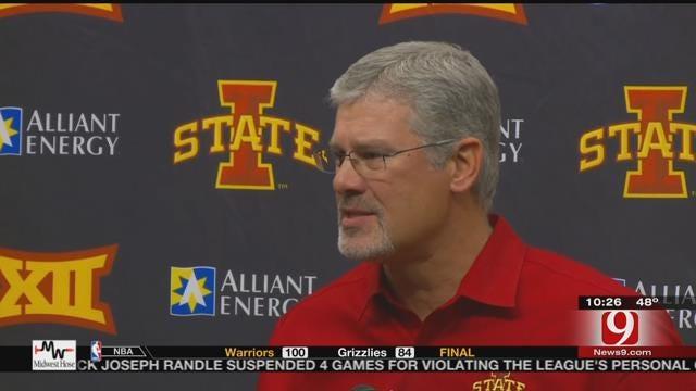 Iowa State Coach Rhoads Thinks Highly Of Cowboys