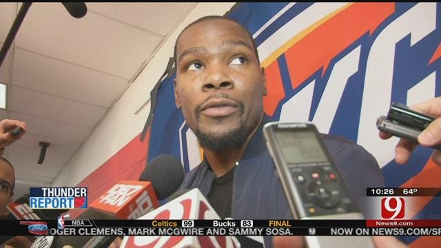 Thunder Beat Wizards, But Lose KD