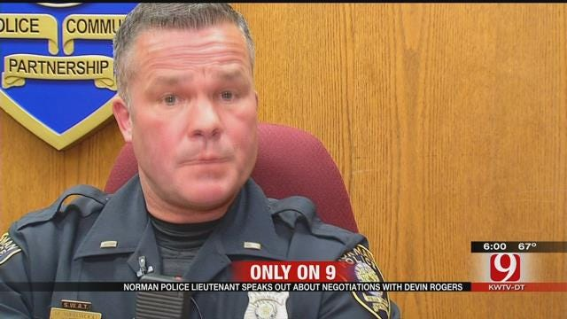 Norman Police Lieutenant Speaks Out A Year After Norman Hostage Situation