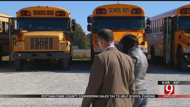 Pottawatomie Co. Residents To Vote On Unusual Half-Cent Sales Tax For Schools