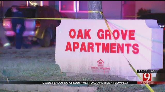 SW OKC Apartment Complex Residents On Edge After Triple Shooting