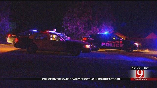 One Dead After Shooting In Southeast OKC