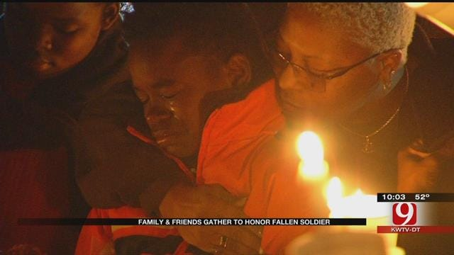 Family, Friends Gather To Honor Oklahoma Veteran Killed In Shooting