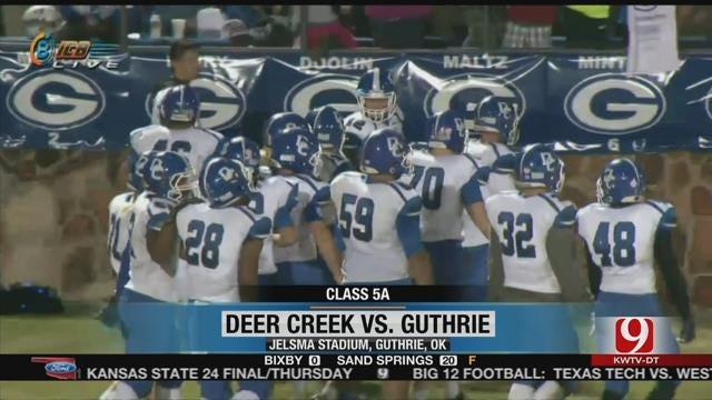 Deer Creek Wins In Guthrie