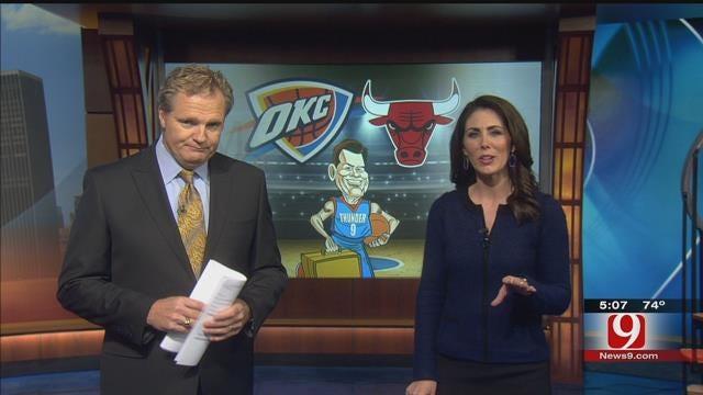 Thunder Set To Take On Bulls