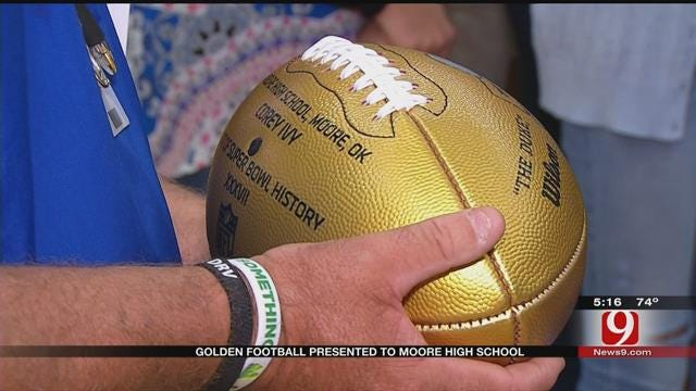 Former MHS Football Player, Super Bowl Champion Inducted Into HS Football HOF