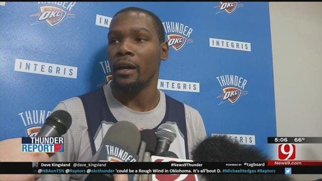 Thunder Set To Face The Undefeated Raptors