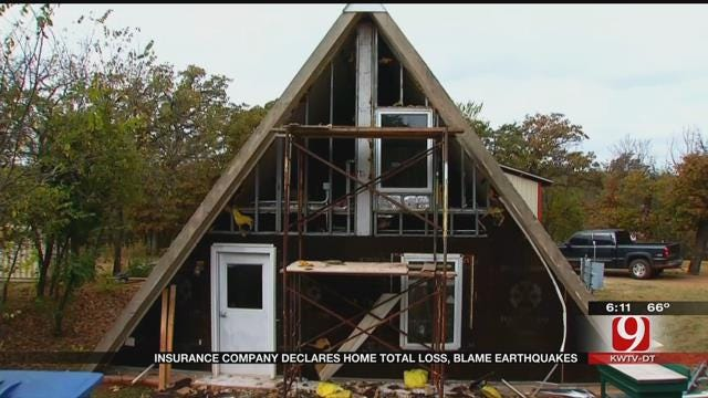 Jones Home Destroyed By Earthquakes