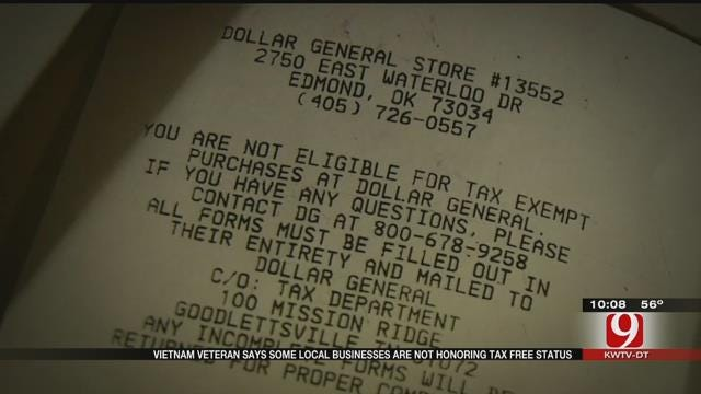 Vietnam War Veteran Fights For His Tax Exemption Right