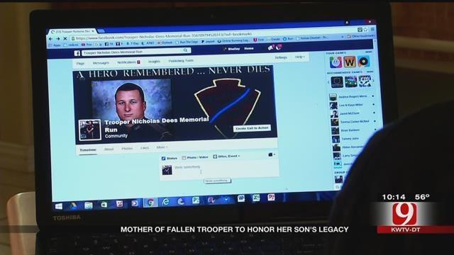 Mother Of Fallen Trooper Organizes Memorial Run
