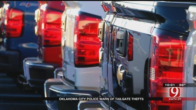 OKC Police Warn Residents To Lock Their Tailgates