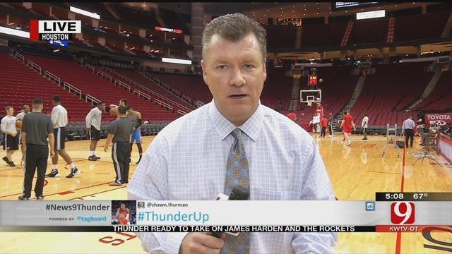 Steve Previews Thunder vs. Rockets