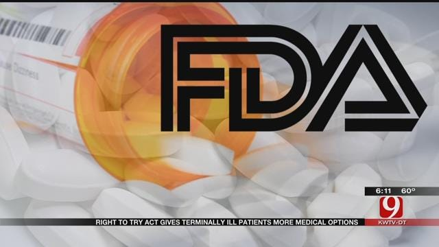 Terminally Ill Oklahomans Now Have Access To Non-FDA Approved Drugs