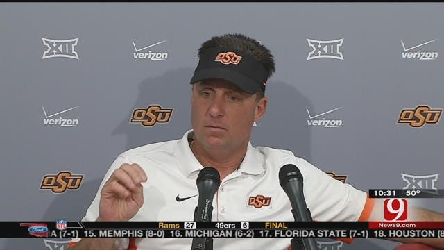 Gundy And Walsh Talk OSU Win
