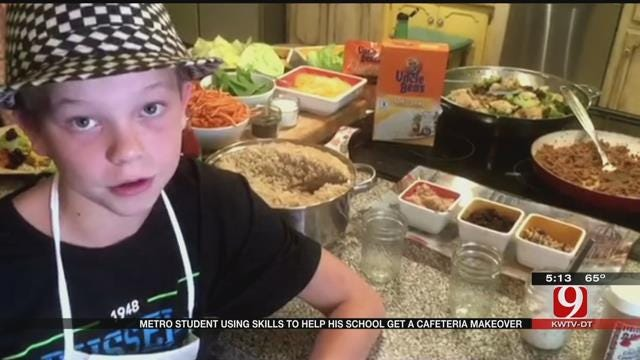 Edmond Elementary Student Using Cooking Skills To Raise Money For School