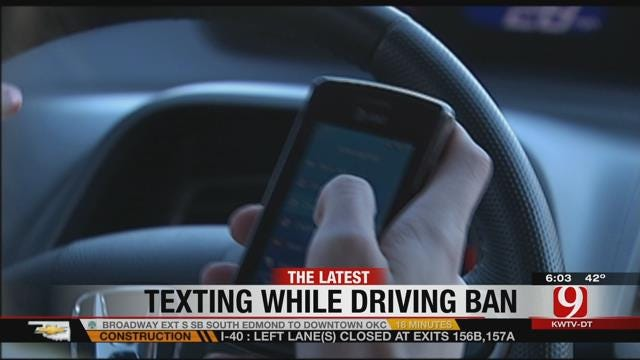 New Texting-And-Driving Law To Take Effect On Nov. 1