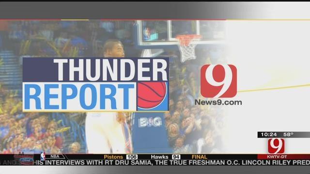 Thunder All Set For Opener vs. Spurs