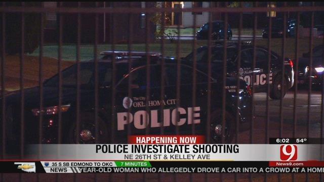 One Injured In Shooting In Northeast OKC