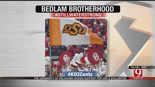 My 2 Cents: University of Oklahoma Shows Support For OSU, Stillwater