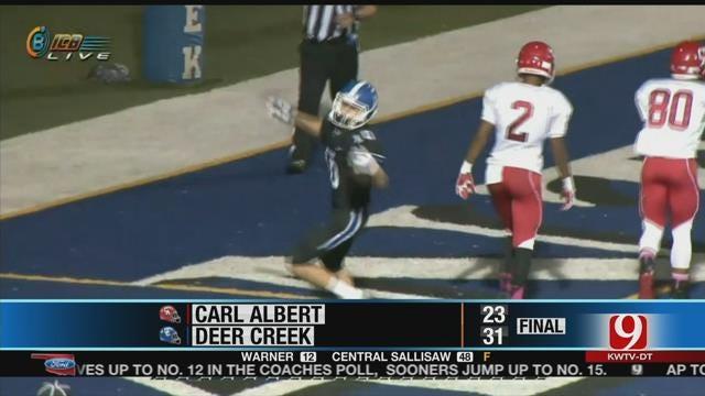 Deer Creek Tops Carl Albert In The Game Of The Week