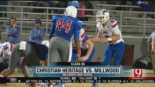 Millwood Tops Christian Heritage, 40-33