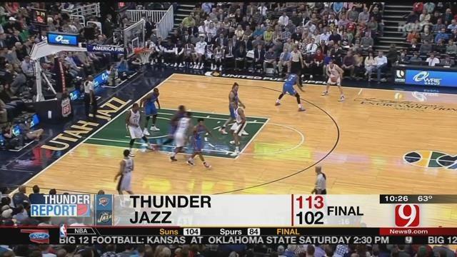 Thunder Cruise Past Jazz In Preseason Finale