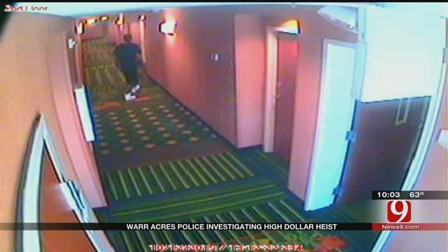 Warr Acres Police Search For Burglar