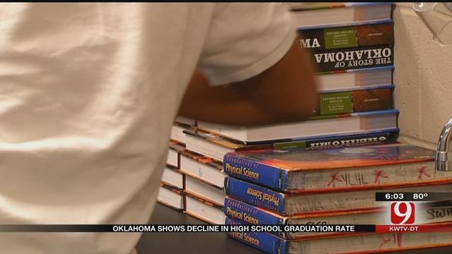 US Education Department Numbers Show OK High School Graduation Rate Drops