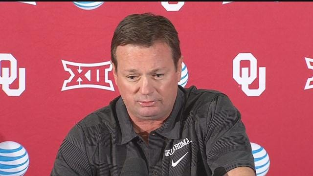 WATCH: Bob Stoops Press Conference
