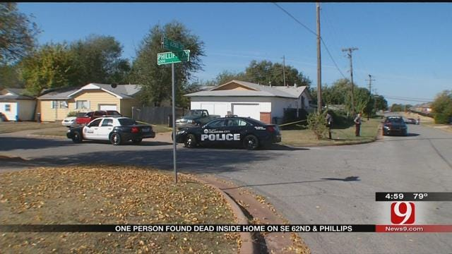 Police Investigate Homicide In South OKC
