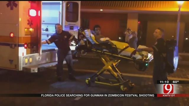 1 Dead, 5 Injured After Shooting At Zombie Convention In Florida