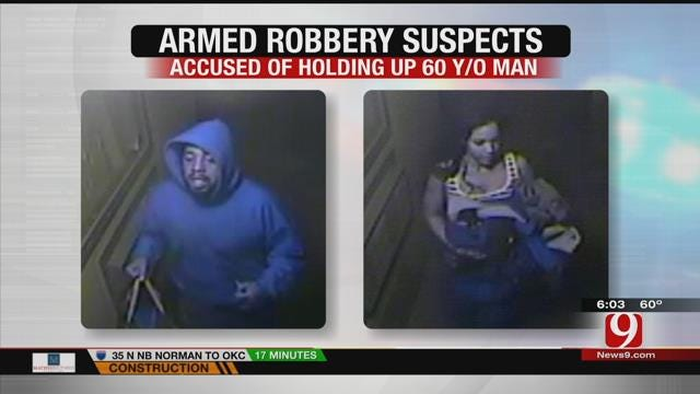 OKC Police Release Photos Of Robbery Suspects