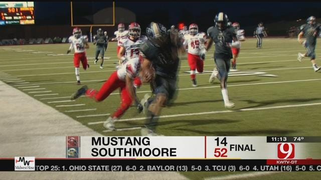 Southmoore Blows Out Mustang
